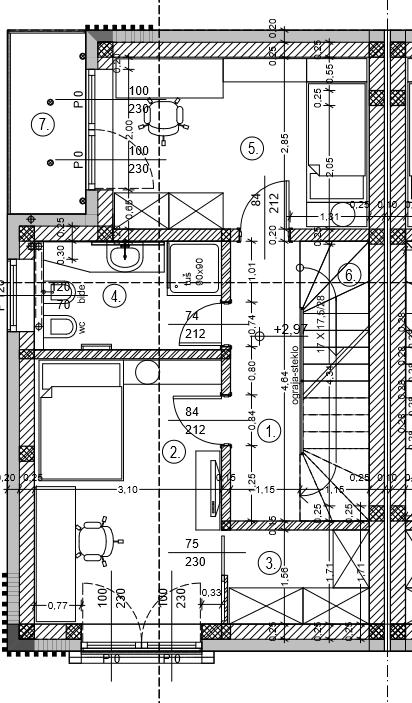 Tloris 1.nadstropje